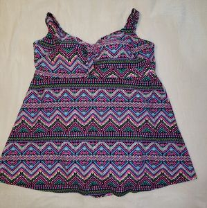 Swimsuits For All Swim Dress  Size 26 NWT